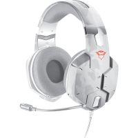 Herní sluchátka TRUST GXT322 Carus Snow (PC)