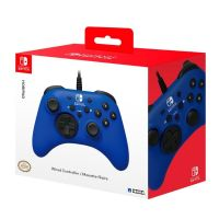 HORIPAD Wired Gamepad for Nintendo Switch, BLUE (Switch)
