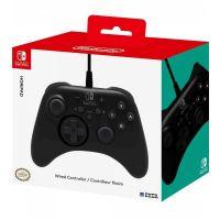 HORIPAD Wired Gamepad for Nintendo Switch, Black (Switch)