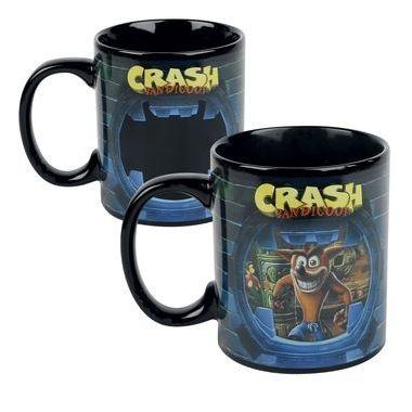 Hrnek Crash Bandicoot, měnící se