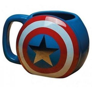 Hrnek Marvel Captain America Shield (Good Loot)