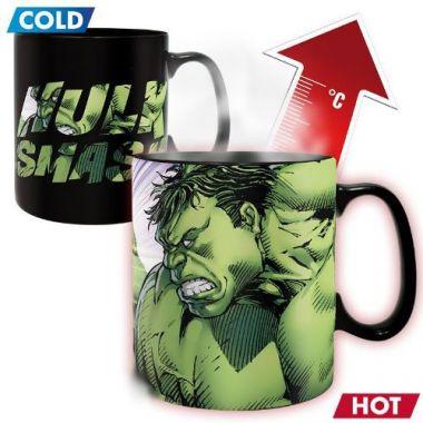 Hrnek Marvel - Hulk Smash, měnící se
