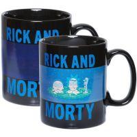 Hrnek Rick and Morty - Portal, měnící se