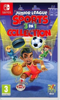 Junior League Sports Collection 3 in 1 (Switch)