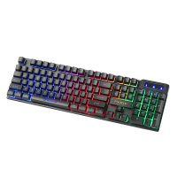 Klávesnice Marvo K605 CZ/SK, herní, membránová, USB, podsvícená (PC)