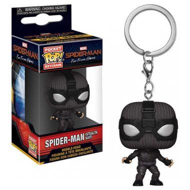 Klíčenka Funko POP: Spider-man Far From Home - Spider-man (Stealth Suit) (Funko POP)