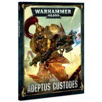 Kniha Warhammer 40.000 Codex Adeptus Custodes