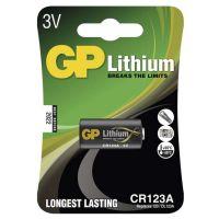 GP BATERIE Lithiová baterie GP CR123A - 1ks, 1022000111