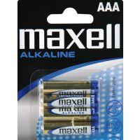 MAXELL Alkalická mikrotužková baterie LR03 4BP 4xAAA (R03) 35009646