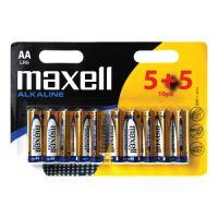 MAXELL Alkalické tužkové baterie LR6 10BP ALK 10x AA 35032357