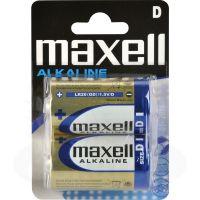 MAXELL LR20 2BP D Alk