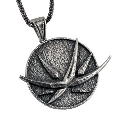 Medailon na krk Zaklínač - Padlá hvězda (Yennefer)