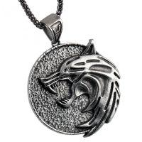 Medailon na krk Zaklínač - Vlk (Geralt)