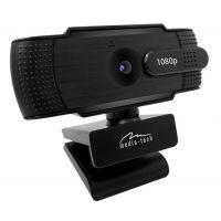 Media-Tech webkamera LOOK V Privacy MT4107, USB, 1080p Full HD, černá (PC)
