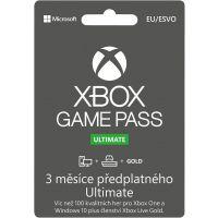 Microsoft Xbox Game Pass Ultimate 3 měsíce (Xbox One/XSX)