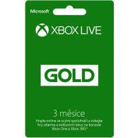 Microsoft Xbox LIVE Gold - zlaté členství 3 měsíce (Xbox One)