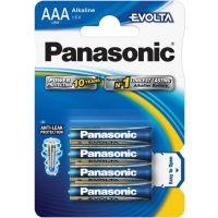 Mikrotužkové alkalické Baterie Panasonic LR03 4BP AAA Evolta, 4ks