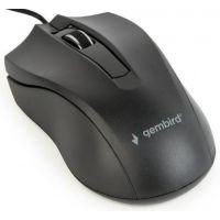 Myš GEMBIRD MUS-3B-01, černá, USB (PC)