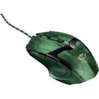 Myš Trust GXT 101D Gav, jungle camo, zelená (22793) (PC)