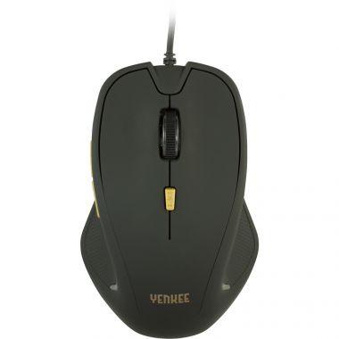 Myš YENKEE YMS 1010BK USB Dakar Black (PC)