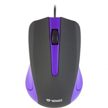 Myš YENKEE YMS 1015PE USB Suva fialová (PC)