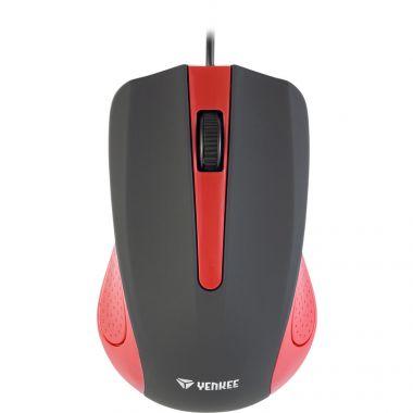 Myš YENKEE YMS 1015RD USB Suva červená (PC)