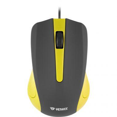 Myš YENKEE YMS 1015YW USB Suva žlutá (PC)