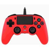 Nacon Wired Compact Controller (červený) (PS4)