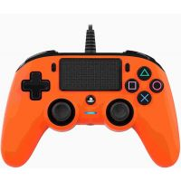 Nacon Wired Compact Controller (oranžový) (PS4)