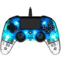 Nacon Wired Compact Controller (průhledně modrý) (PS4)