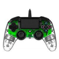 Nacon Wired Compact Controller (průhledný zelený) (PS4)