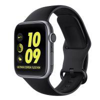 Tech-Protect Náhradní gumový řemínek GEARBAND pro Apple Watch 42/44mm, černý