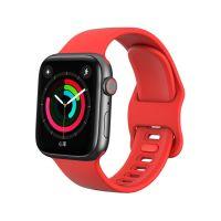 Tech-Protect Náhradní gumový řemínek pro Apple Watch (42/44mm), červený