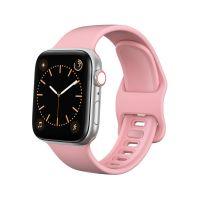 Tech-Protect Náhradní gumový řemínek pro Apple Watch (42/44mm), Růžový