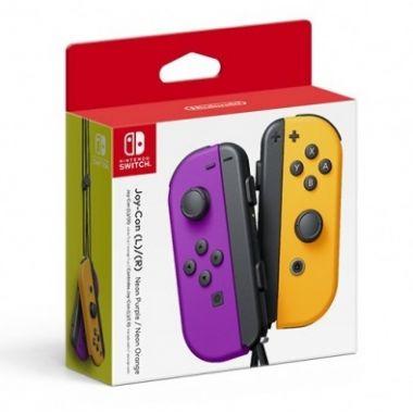 Nintendo Joy-Con Pair Neon Purple & Orange (Switch)
