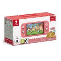 Nintendo Switch Console Lite růžová + Animal Crossing: New Horizons (Switch)
