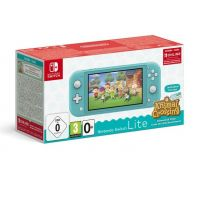 Nintendo Switch Console Lite tyrkysová + Animal Crossing: New Horizons (Switch)