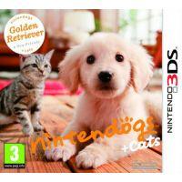 Nintendogs + Cats: Golden Retriever and New Friends (Nintendo 3DS)