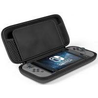 Ochranné pouzdro pro Nintendo Switch - Tech-Protect, Hardpouch černý (Switch)