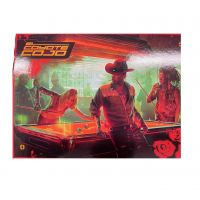 Pohlednice Cyberpunk 2077: Night City Kulečník v baru (Serie 3)