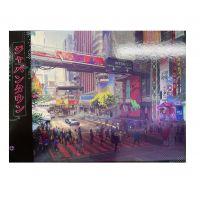 Pohlednice Cyberpunk 2077: Night City Rušná ulice (Serie 2)