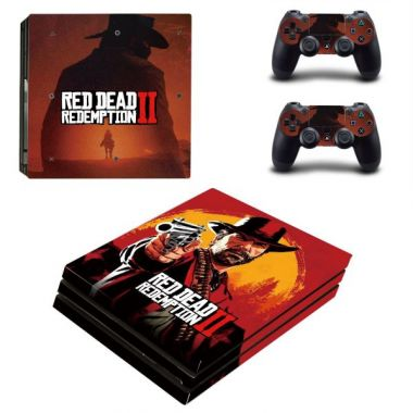 Polep na konzoli PRO - Red Dead Redemption 2 (PS4)