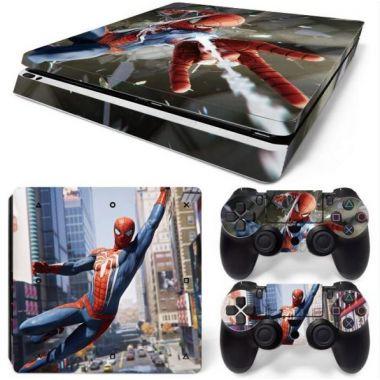 Polep na konzoli SLIM - Spider-Man (PS4)