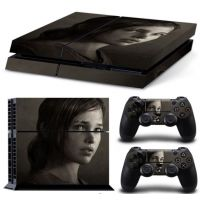 Polep na Playstation 4 - The Last of Us - Ellie (PS4)