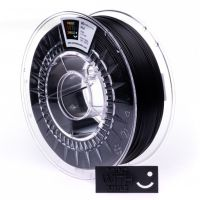 Print With Smile tisková struna (filament), PLA, 1, 75 mm, Black, 1kg