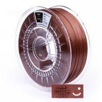 Print With Smile tisková struna (filament), PLA, 1, 75 mm, Copper Brown, 500g