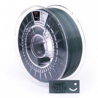 Print With Smile tisková struna (filament), PLA, 1, 75 mm, Dark Green, 1kg