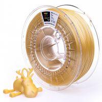 Print With Smile tisková struna (filament), SATIN PLA, 1, 75 mm, Yellow, 1kg