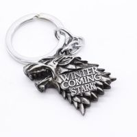 Přívěsek na klíče - Game of Thrones: Winter is Coming (vlk)