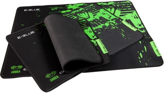 Herní podložka pod myš Cobra S, černo-zelená 280x225mm